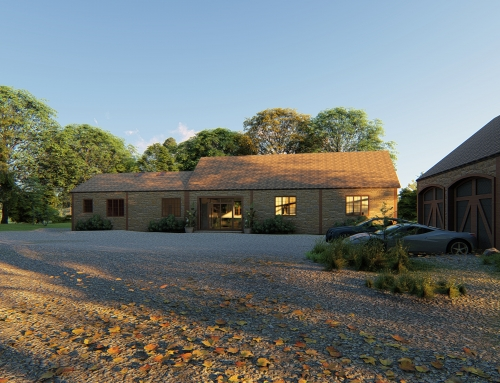 Open plan country home – UK