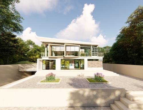 Modern Villa CGI – Concept