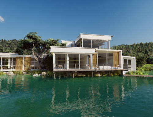 Lake House Renders
